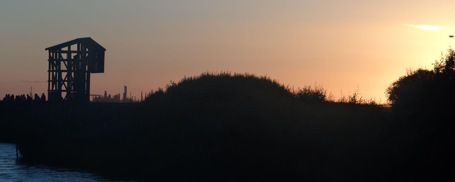 Soleil couchant à kawamata © Loire & Sillon Tourisme