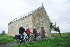 Vélo à la Chapelle de Rohars_Bouée