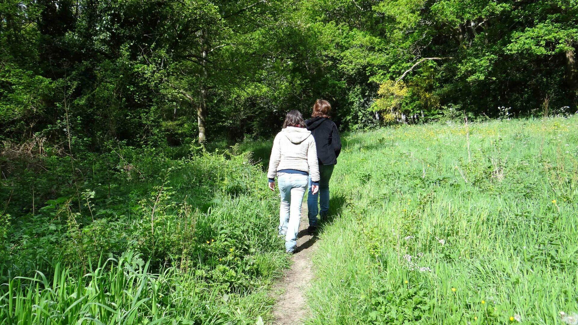 Sentier de l'Escurays à Boitouze © Estuaire & Sillon Tourisme
